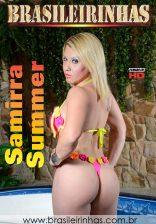 Samirra Summer dá o rabo e a buceta até tomar gozo na boca