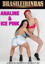 Ela é Toda Toda -  Ice Pink e Analine fazendo sexo a três