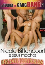 Nicole Bitencourt caprichou na performance na hora do Gang Bang.