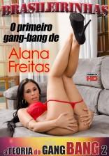Alana Freitas participa de um gang bang com 4 rapazes!