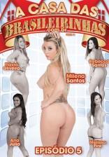 Milena Santos chegou com tudo na Casa das Brasileirinhas e mandou ver!