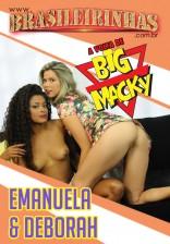 Deborah Blu e Emanuela Martins se divertem com o cintaralho e gozam muito!