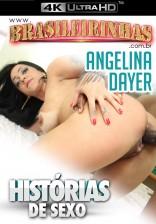 Angelina Dayer ganha socada na buceta gostosa e ganha muito leitinho do negão!