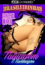 Angel Lima faz tatuagem e se excita muito com o sexo interracial