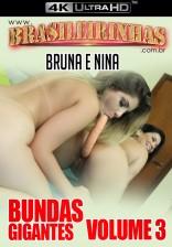 Nina Lins e Bruna Ferraz fodendo juntinhas com o consolo