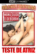 Deborah Bluh goza no lesbo triplo com a Manu Fox e a Duda Morais