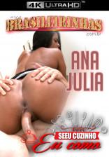 A empregada Ana Julia preparou uma tapioca e liberou o cuzinho