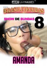 Amanda Souza fez muito sexo anal com Falcon até levar gozada na cara