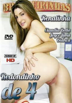 Filme pornô Redondinho de 4 Capa da frente