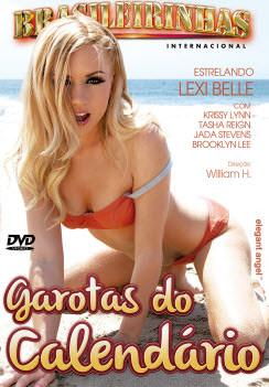 Filme pornô Garotas do Calendário 2012 Capa da frente