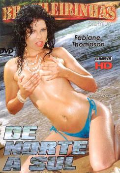 Filme pornô De Norte a Sul Capa da frente