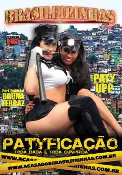 Filme pornô Patyficação Capa da frente