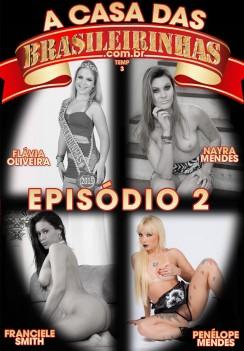 Filme pornô Casa das Brasileirinhas - Temporada 3 Capa da frente