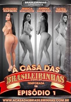Filme pornô Casa das Brasileirinhas - Temporada 6 Capa da frente