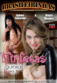 Filme pornô Ninfetas Gulosas 3 Capa da frente