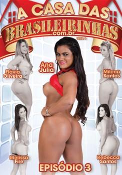 Filme pornô Casa Das Brasileirinhas - Temporada 8 Capa da frente