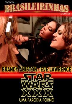 Filme pornô Star Wars XXX Capa da frente
