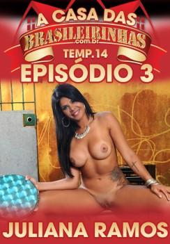 Filme pornô A Casa das Brasileirinhas Temporada 14 Capa da frente