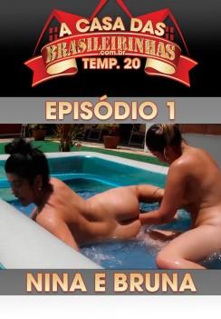 Filme pornô A Casa das Brasileirinhas Temporada 20 Capa da frente