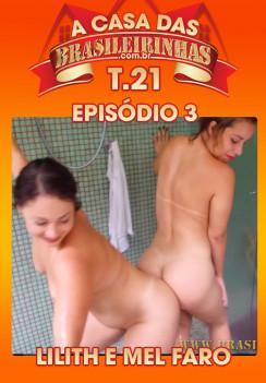 Filme pornô A Casa das Brasileirinhas Temporada 21 Capa da frente