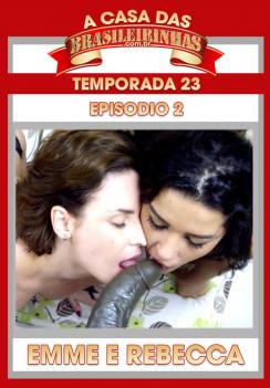 Filme pornô A Casa das Brasileirinhas Temporada 23 Capa da frente
