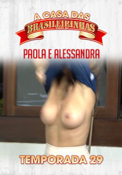 Filme pornô  A Casa das Brasileirinhas Temporada 29 Capa da frente