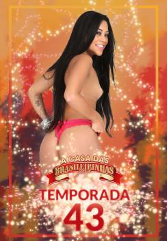 Filme pornô A Casa das Brasileirinhas Temporada 43 Capa da frente