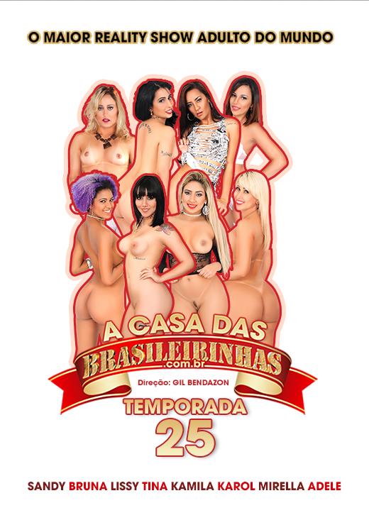 Capa frente do filme A Casa das Brasileirinhas Temporada 25