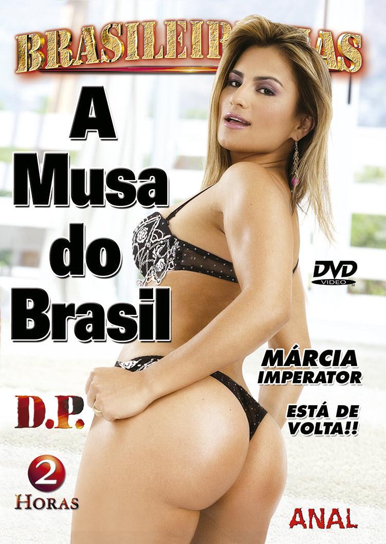 Capa frente do filme A Musa do Brasil