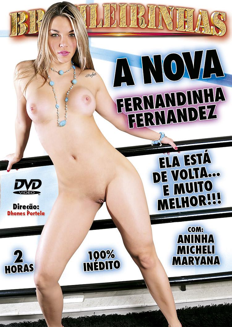 Capa Hard do filme A nova Fernandinha Fernandez