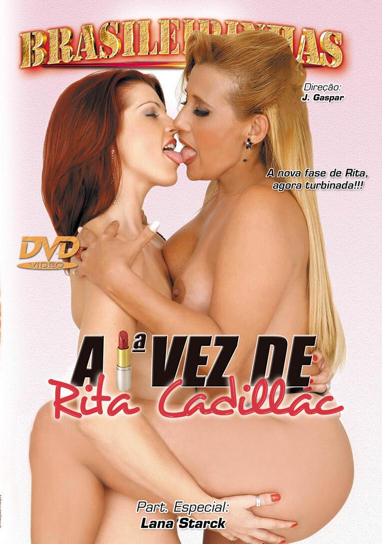 Capa frente do filme A Primeira Vez De Rita Cadillac