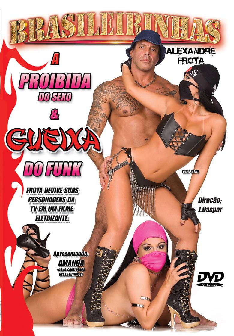 Capa frente do filme  A Proibida Do Sexo E Gueixa Do Funk