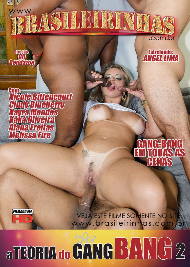 Capa Hard do filme A Teoria do Gang Bang 2