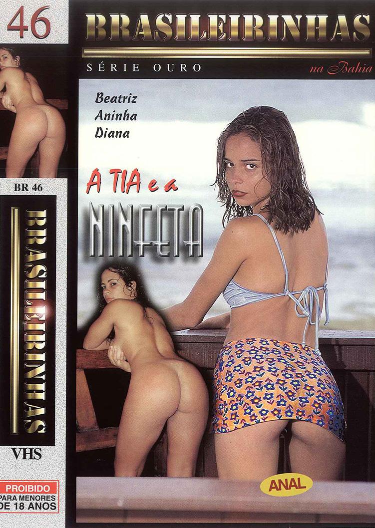 Capa frente do filme A Tia e a Ninfeta
