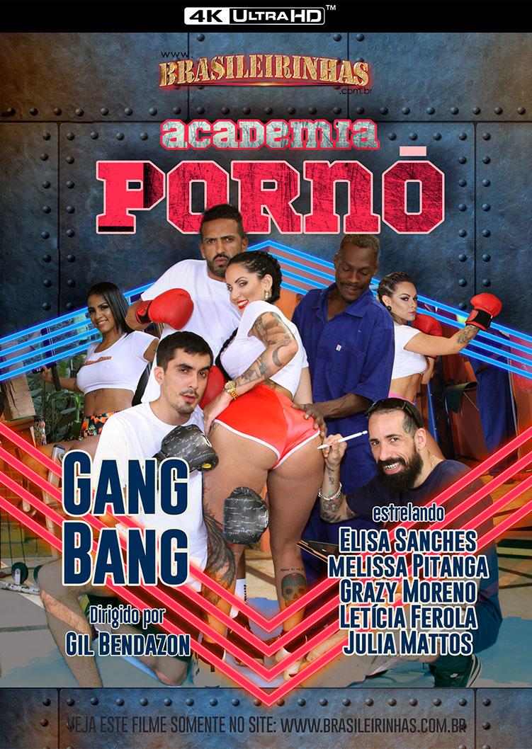 Capa frente do filme Academia Pornô