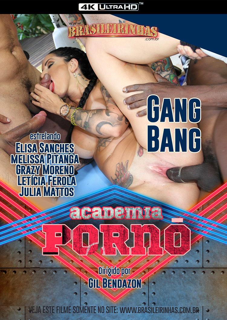 Capa Hard do filme Academia Pornô