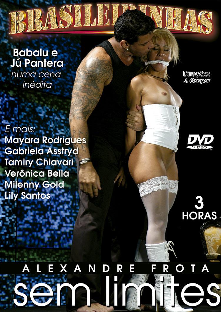 Capa frente do filme Alexandre Frota sem limites