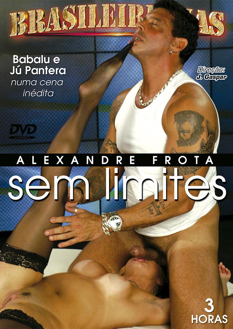 Capa Hard do filme Alexandre Frota sem limites
