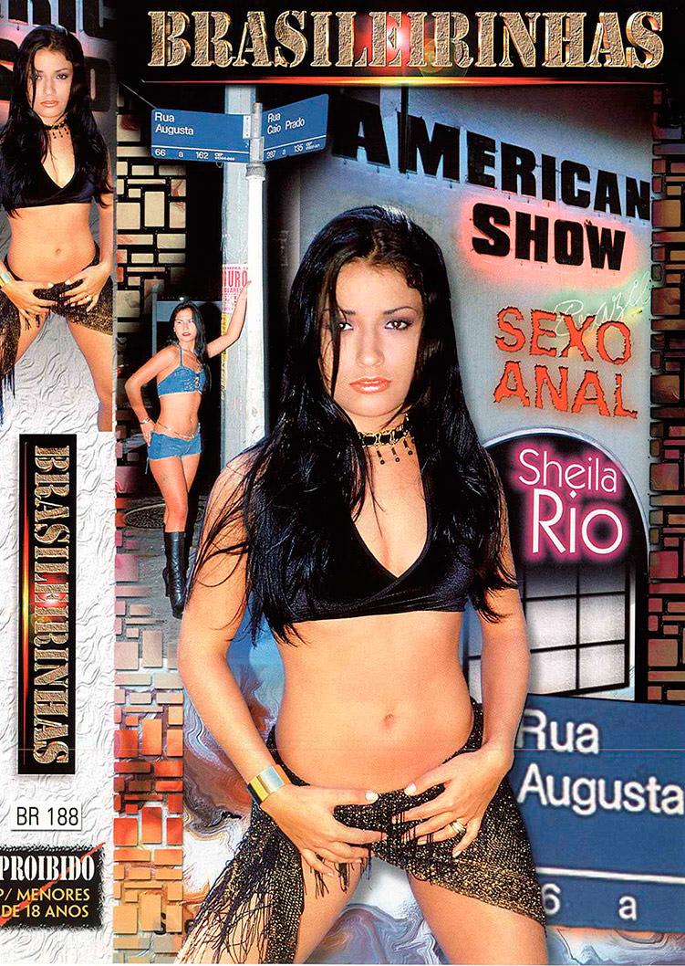 Capa frente do filme American Show