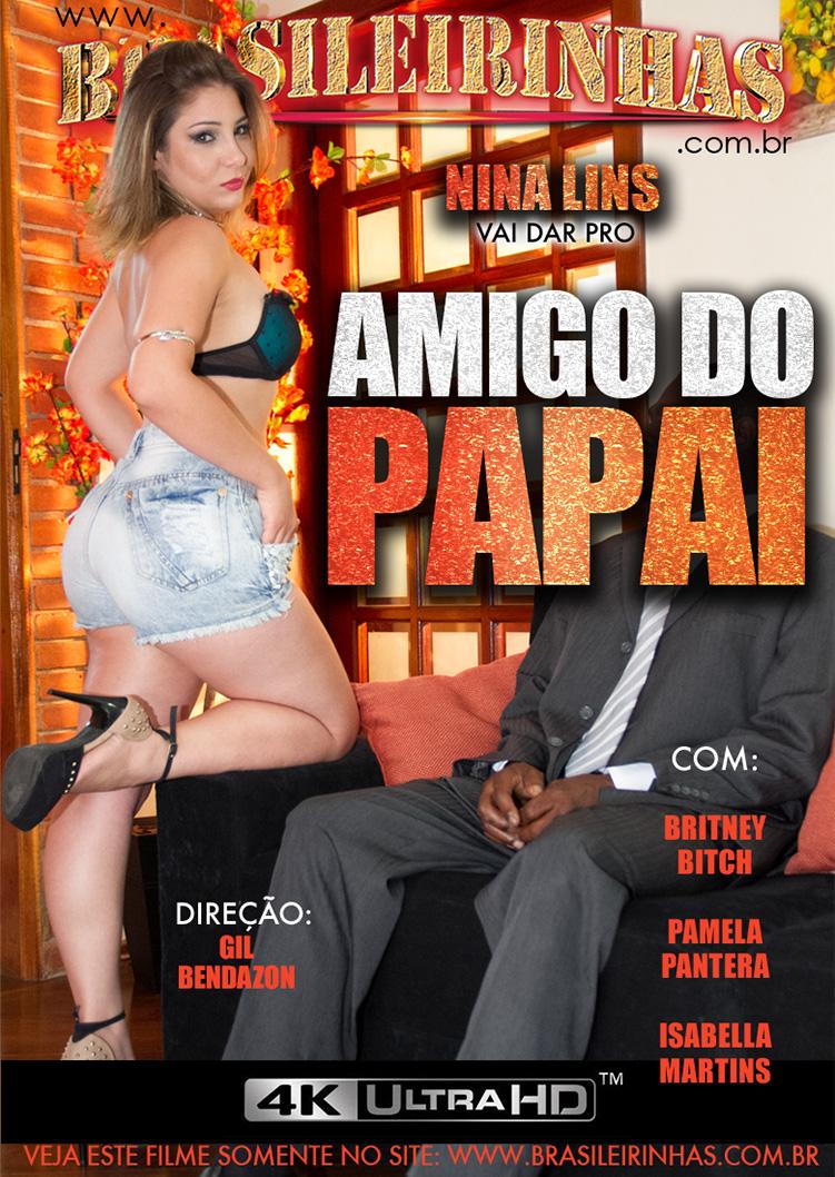 Capa Hard do filme Amigo do Papai 4k