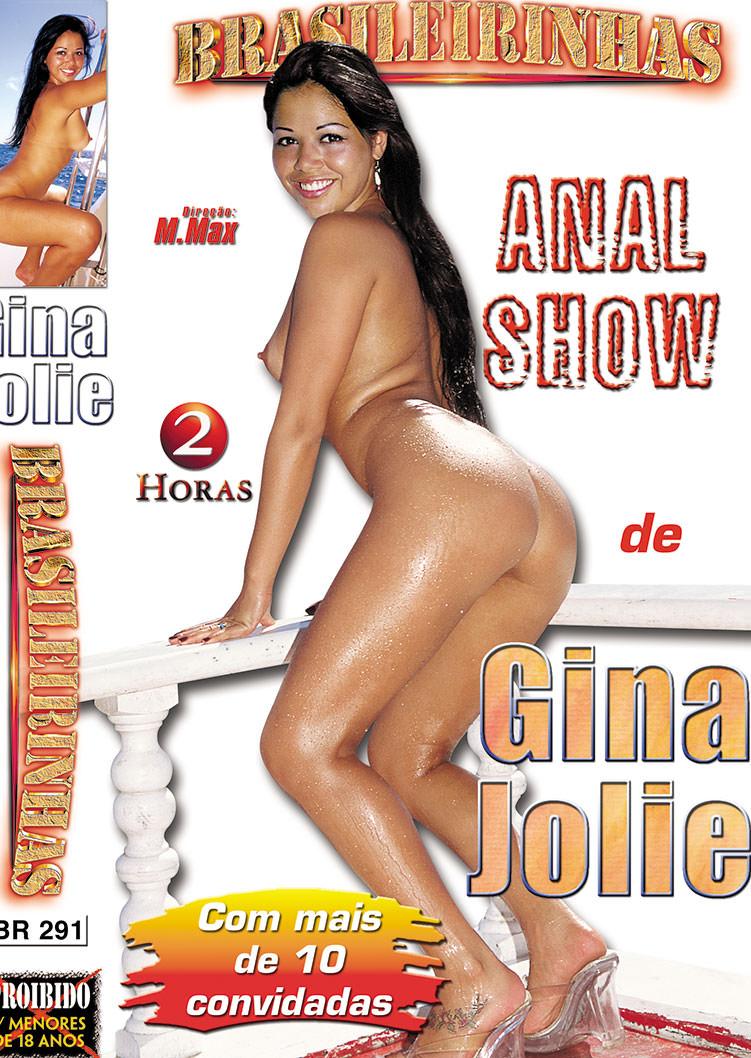 Capa frente do filme Anal Show Gina Jolie