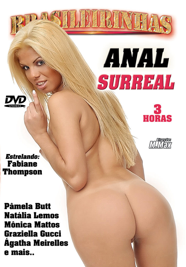 Capa frente do filme Anal Surreal