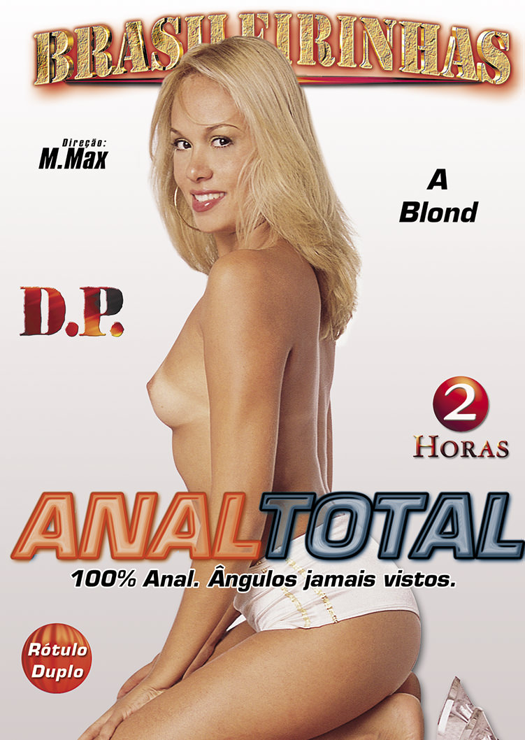 Capa frente do filme Anal total 3