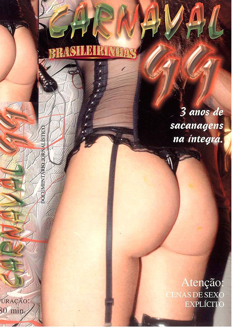 Capa frente do filme 3 anos de Sacanagem - Carnaval de 1999