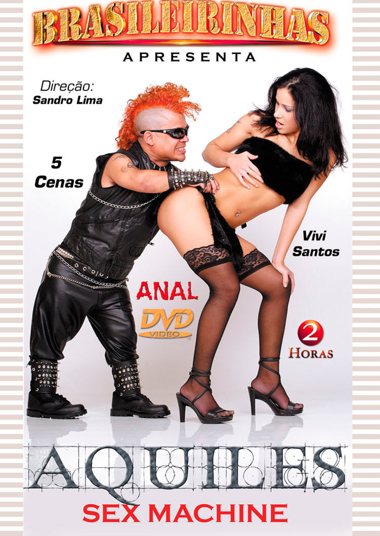 Capa frente do filme Aquiles Sex Machine