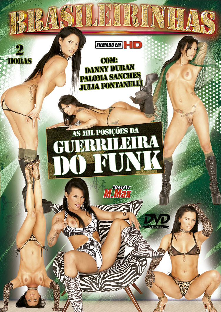 Capa frente do filme As mil posições da Guerrilheira do Funk