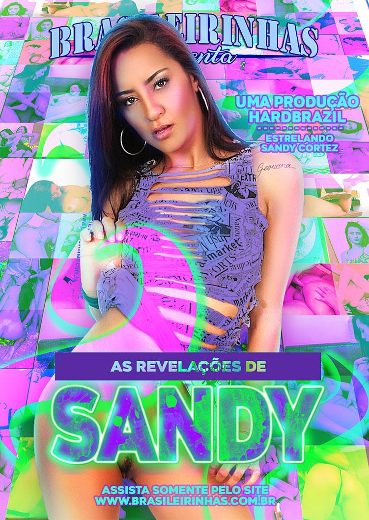 Capa frente do filme As Revelações de Sandy
