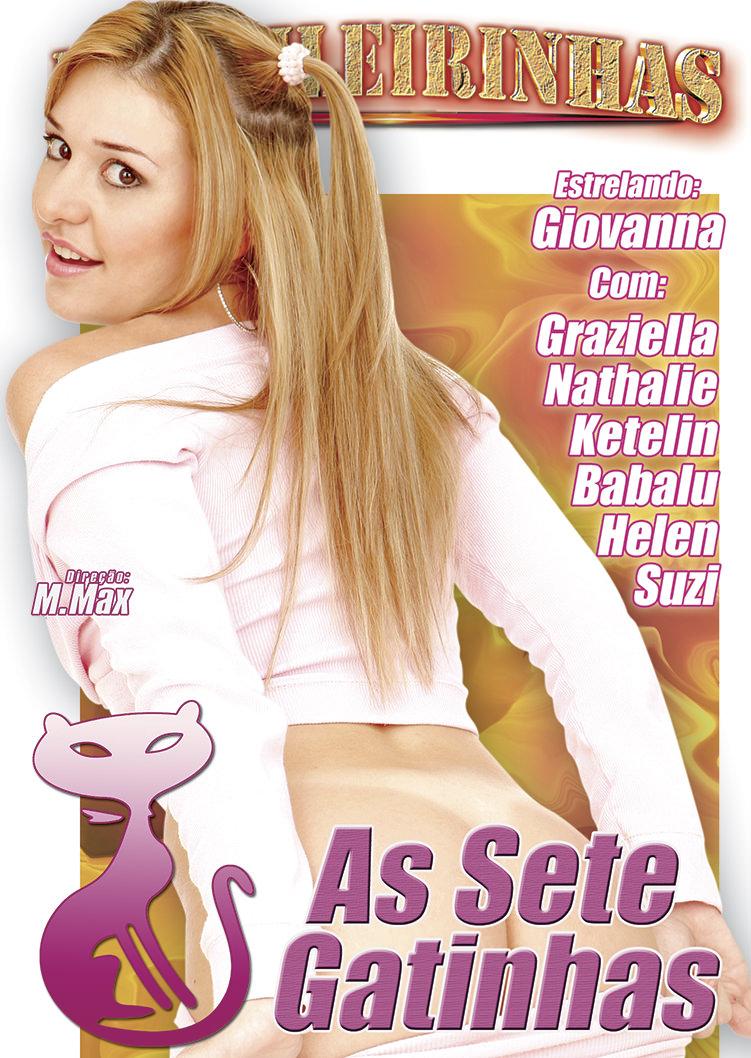 Capa frente do filme As Sete Gatinhas