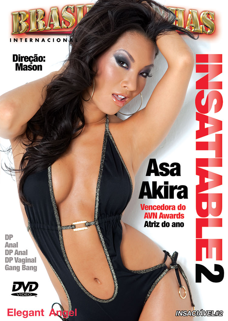 Capa frente do filme Asa Akira Is Insatiable 2