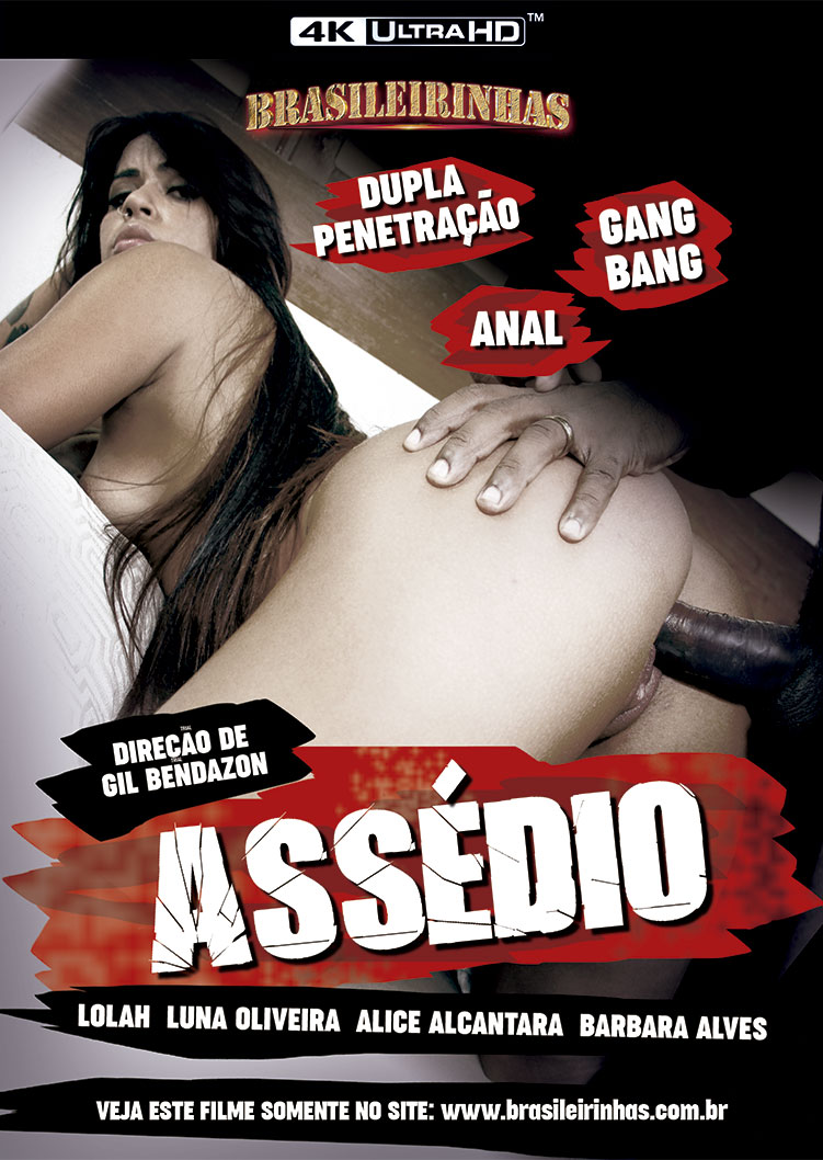 Capa frente do filme Assédio